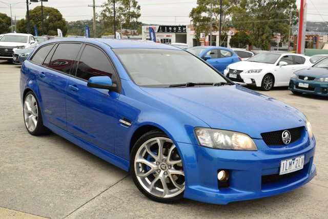 Used Holden Commodore VE II SS V Sportwagon Ferntree Gully, 2010 Holden Commodore VE II SS V Sportwagon Blue 6 Speed Sports Automatic Wagon