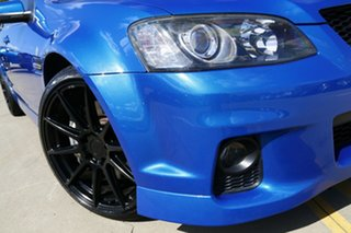 2011 Holden Commodore VE II SS V Redline Blue 6 Speed Manual Sedan.