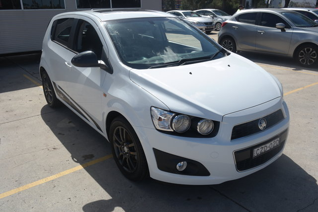 Used Holden Barina TM MY15 X Maryville, 2015 Holden Barina TM MY15 X White 6 Speed Automatic Hatchback