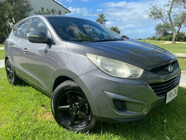 Used Hyundai ix35 LM MY11 Active Tugun, 2011 Hyundai ix35 LM MY11 Active Grey 5 Speed Manual Wagon