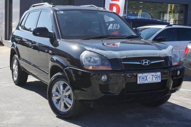 Used Hyundai Tucson JM MY09 City SX Phillip, 2009 Hyundai Tucson JM MY09 City SX Black 5 Speed Manual Wagon