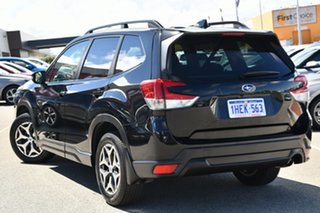 2018 Subaru Forester S5 MY19 2.5i CVT AWD Black 7 Speed Constant Variable Wagon.
