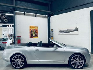2007 Bentley Continental 3W GTC Silver 6 Speed Sports Automatic Convertible.
