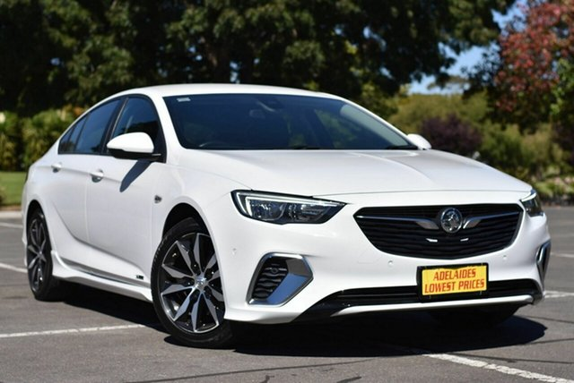 Used Holden Commodore ZB MY18 RS Liftback AWD Enfield, 2018 Holden Commodore ZB MY18 RS Liftback AWD White 9 Speed Sports Automatic Liftback