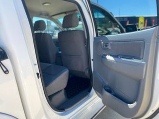 2010 Toyota Hilux SR5 White Automatic Dual Cab Utility