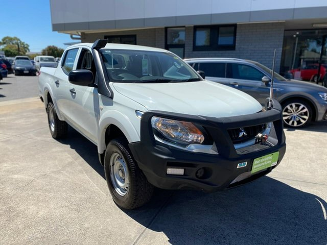 Used Mitsubishi Triton MQ MY17 GLX Double Cab Hillcrest, 2017 Mitsubishi Triton MQ MY17 GLX Double Cab White 5 Speed Sports Automatic Utility