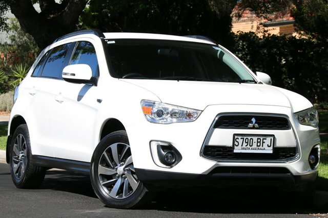 Used Mitsubishi ASX XB MY15 LS 2WD Nailsworth, 2015 Mitsubishi ASX XB MY15 LS 2WD White 6 Speed Constant Variable Wagon