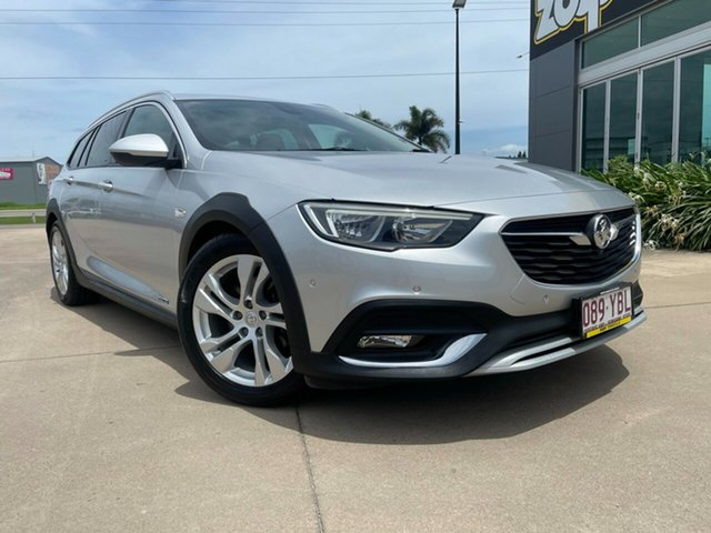 Used Holden Calais ZB MY18 Tourer AWD Townsville, 2018 Holden Calais ZB MY18 Tourer AWD Silver/250918 9 Speed Sports Automatic Wagon