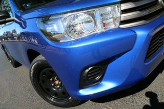 2015 Toyota Hilux GUN123R SR Extra Cab 4x2 Blue 5 Speed Manual Utility.