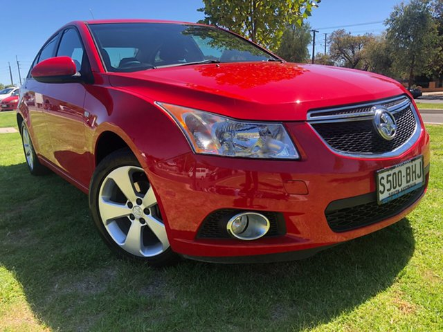 Used Holden Cruze JH Series II MY14 Equipe Hindmarsh, 2014 Holden Cruze JH Series II MY14 Equipe Red 6 Speed Sports Automatic Sedan