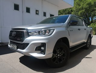 2020 Toyota Hilux GUN126R Rogue Double Cab Silver 6 Speed Sports Automatic Utility.
