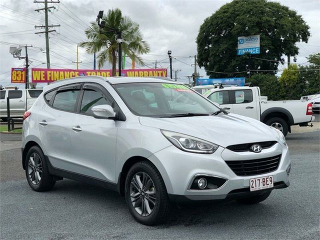 Used Hyundai ix35 LM3 SE Archerfield, 2015 Hyundai ix35 LM3 SE Silver 6 Speed Sports Automatic Wagon