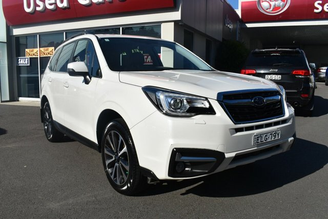 Used Subaru Forester S4 MY16 2.0D-S AWD Gosford, 2016 Subaru Forester S4 MY16 2.0D-S AWD White 6 Speed Manual Wagon
