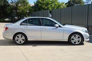 2013 Mercedes-Benz C-Class W204 MY13 C200 7G-Tronic + Elegance Silver 7 Speed Sports Automatic Sedan.