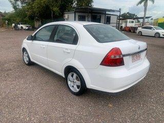 2007 Holden Barina White 5 Speed Manual Sedan