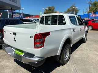 2017 Mitsubishi Triton MQ MY17 GLX Double Cab White 5 Speed Sports Automatic Utility