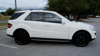 2006 Mercedes-Benz M-Class W164 ML280 CDI White 7 Speed Sports Automatic Wagon.