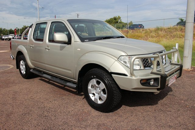 Pre-Owned Nissan Navara D40 MY11 ST Darwin, 2011 Nissan Navara D40 MY11 ST Gold 5 Speed Automatic Utility