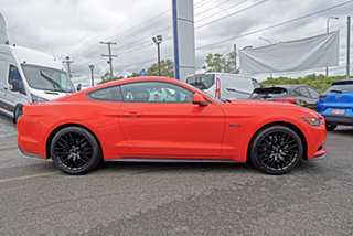 2015 Ford Mustang FM GT Fastback SelectShift Orange 6 Speed Sports Automatic Fastback.