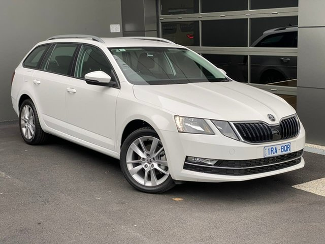Demo Skoda Octavia NE MY20 110TSI DSG Hobart, 2019 Skoda Octavia NE MY20 110TSI DSG White 7 Speed Sports Automatic Dual Clutch Wagon