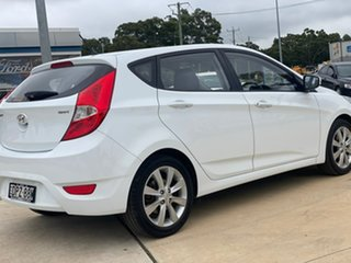 2017 Hyundai Accent Sport White Sports Automatic Hatchback