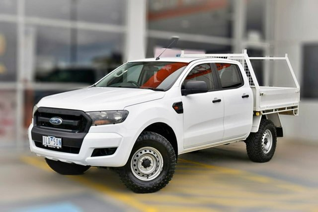 Used Ford Ranger PX MkII XL Berwick, 2017 Ford Ranger PX MkII XL White 6 Speed Sports Automatic Cab Chassis