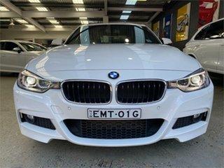 2014 BMW 3 Series F30 320d M Sport White Sports Automatic Sedan.