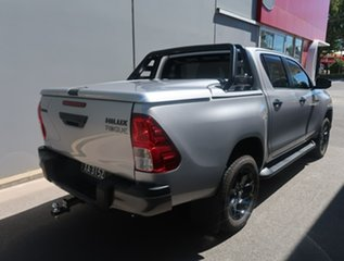 2020 Toyota Hilux GUN126R Rogue Double Cab Silver 6 Speed Sports Automatic Utility