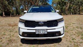 2020 Kia Sorento MQ4 MY21 GT-Line AWD Snow White Pearl 8 Speed Automatic Wagon.