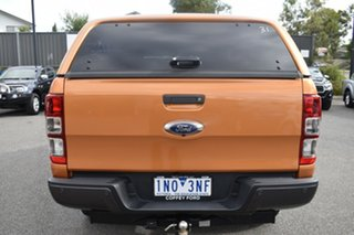 2018 Ford Ranger PX MkIII 2019.00MY Wildtrak Orange 6 Speed Sports Automatic Utility.