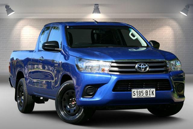 Used Toyota Hilux GUN123R SR Extra Cab 4x2 Nailsworth, 2015 Toyota Hilux GUN123R SR Extra Cab 4x2 Blue 5 Speed Manual Utility