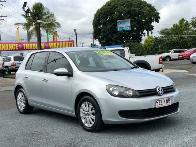 Used Volkswagen Golf VI 103TDI Comfortline Archerfield, 2010 Volkswagen Golf VI 103TDI Comfortline Silver 6 Speed Sports Automatic Dual Clutch Hatchback