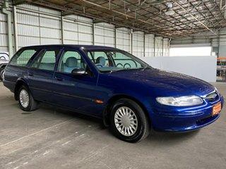 1998 Ford Falcon EL GLi Blue 4 Speed Automatic Wagon.