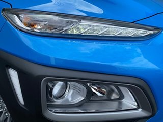 2019 Hyundai Kona OS.2 MY19 Go D-CT AWD Blue 7 Speed Sports Automatic Dual Clutch Wagon