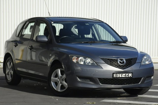 Used Mazda 3 BL10F1 Neo Activematic Wollongong, 2009 Mazda 3 BL10F1 Neo Activematic Grey 5 Speed Sports Automatic Hatchback