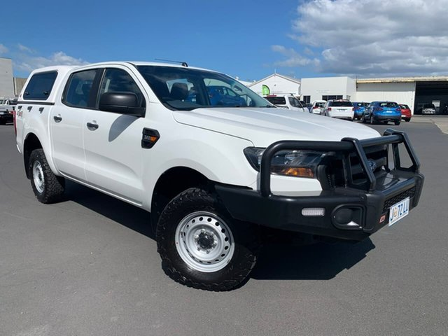 Used Ford Ranger PX MkII XL Moonah, 2015 Ford Ranger PX MkII XL White 6 Speed Sports Automatic Utility