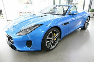 2017 Jaguar F-TYPE X152 MY18.5 Convertible Blue 8 Speed Sports Automatic Convertible