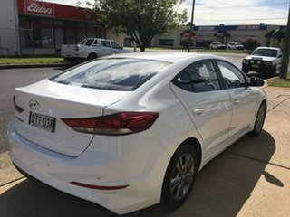 2017 Hyundai Elantra AD Active White Sports Automatic