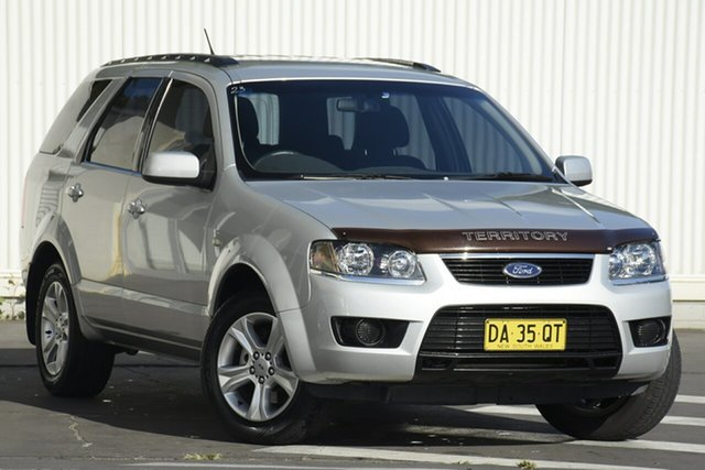 Used Ford Territory SY MkII TX Wollongong, 2010 Ford Territory SY MkII TX Silver 4 Speed Sports Automatic Wagon