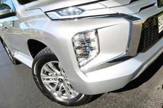 2020 Mitsubishi Pajero Sport QF MY20 GLX Silver 8 Speed Sports Automatic Wagon.