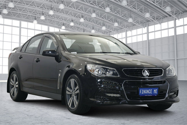 Used Holden Commodore VF MY15 SV6 Victoria Park, 2014 Holden Commodore VF MY15 SV6 Black 6 Speed Sports Automatic Sedan