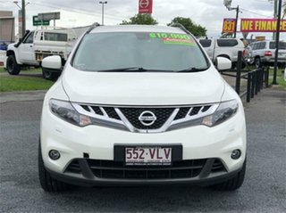 2014 Nissan Murano Z51 Series 4 ST White 6 Speed Constant Variable Wagon.