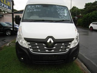 2016 Renault Master X62 MY15 (nbi) Elwb High White 6 Speed Automated Manual Van.