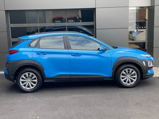 2019 Hyundai Kona OS.2 MY19 Go D-CT AWD Blue 7 Speed Sports Automatic Dual Clutch Wagon.