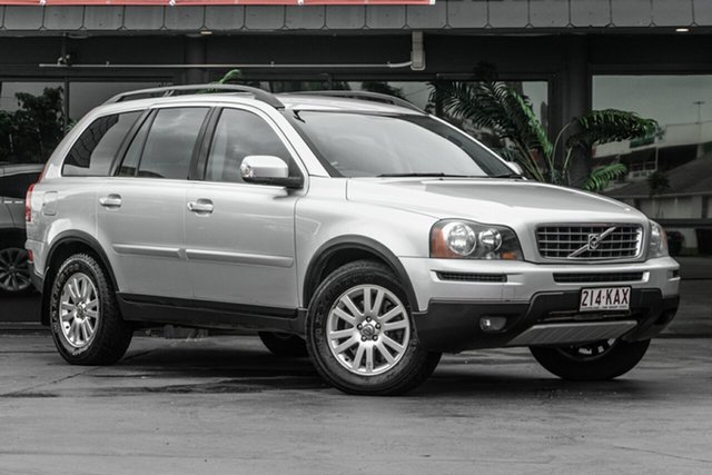 Used Volvo XC90 P28 MY07 D5 Bowen Hills, 2007 Volvo XC90 P28 MY07 D5 Silver 6 Speed Sports Automatic Wagon