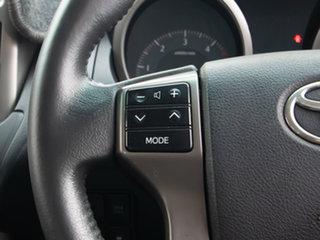 2010 Toyota Landcruiser Prado KDJ150R GXL (4x4) Silver, Chrome 5 Speed Sequential Auto Wagon