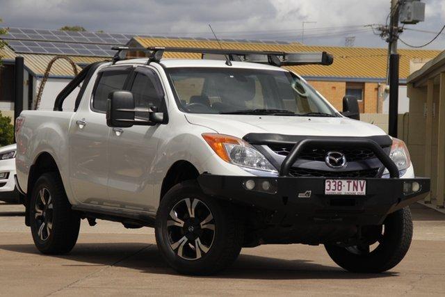 Used Mazda BT-50 UP0YF1 GT Bundamba, 2013 Mazda BT-50 UP0YF1 GT White 6 Speed Sports Automatic Utility