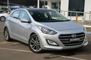 2015 Hyundai i30 GD3 Series II MY16 SR Premium Silver 6 Speed Sports Automatic Hatchback.