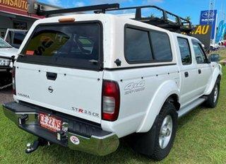 2012 Nissan Navara D22 S5 ST-R White 5 Speed Manual Utility.