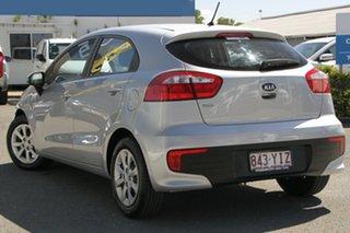 2015 Kia Rio UB MY15 S Bright Silver 4 Speed Sports Automatic Hatchback.